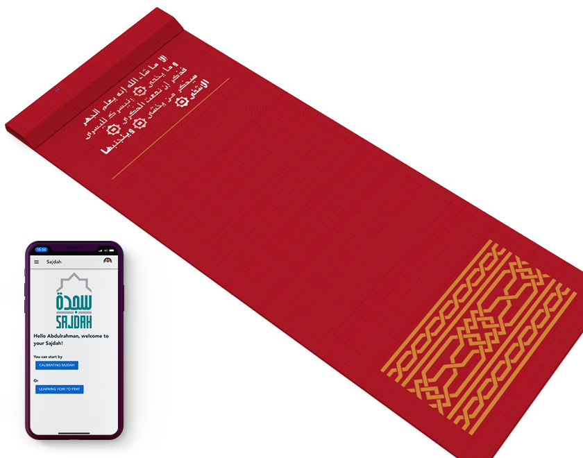 Sajdah - Smart Educational Prayer Rug